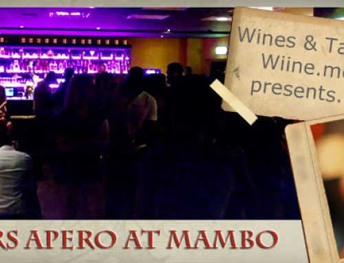 Oct 23: Wine Lovers' Open Apero at Mambo Club