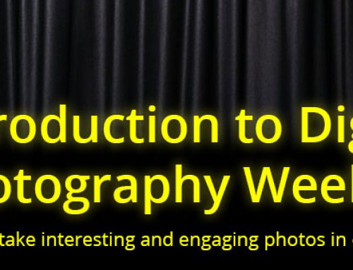 Introduction to Photography Weekend: Feb 28 – Mar 1