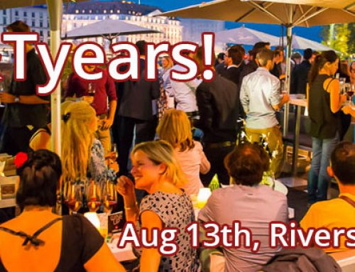 W&T 7th year anniversary drinks – Aug 13th