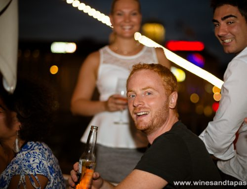 Photos from Riverside drinks under extreme heat online!